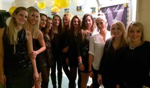 Merci aux filles de l'ancienne équipe de l'USSPA - 1