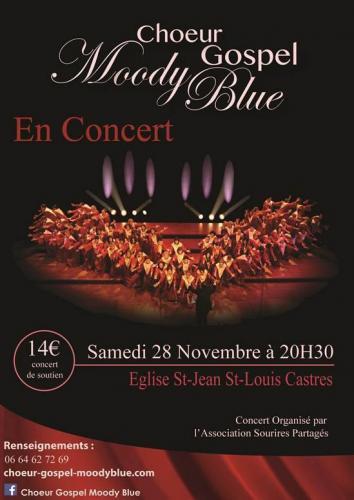 Choeur Gospel Moody Blue