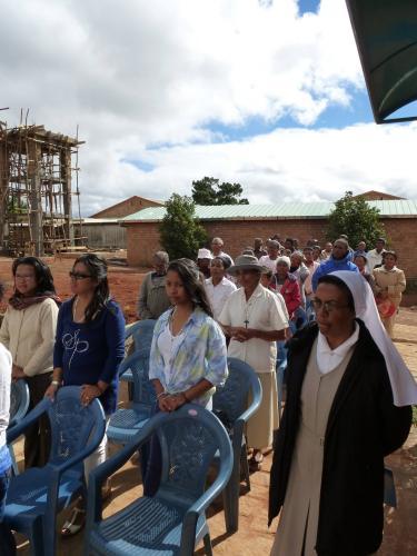 Inauguration du dispensaire de la Cité de la Paix - 2