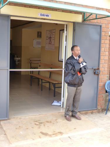Inauguration du dispensaire de la Cité de la Paix - 4