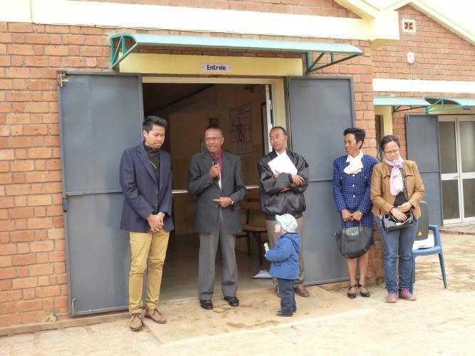 Inauguration du dispensaire de la Cité de la Paix - 5