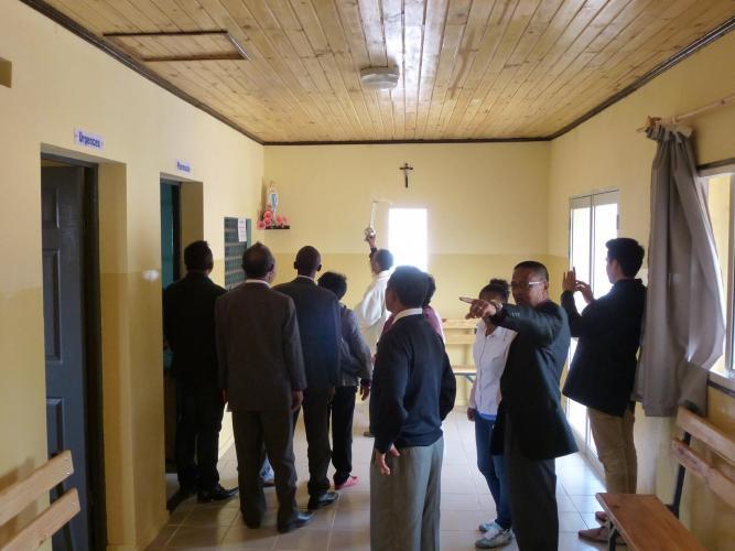 Inauguration du dispensaire de la Cité de la Paix - 8
